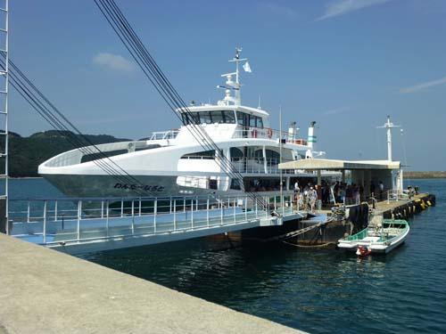 鳴門のうず潮観光船